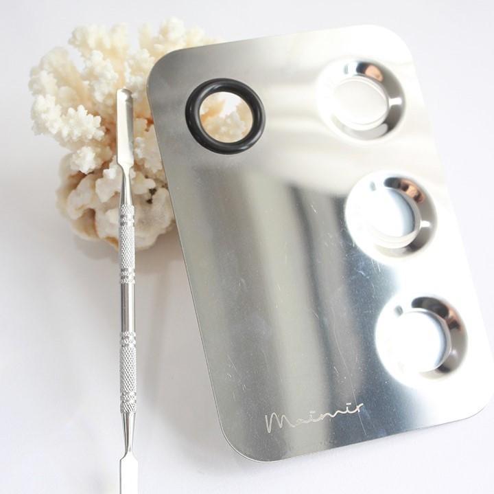 메이크업 자격증 재료 단품 플레이트판세트